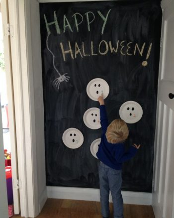 Halloween 'Get the Ghost' Number Game