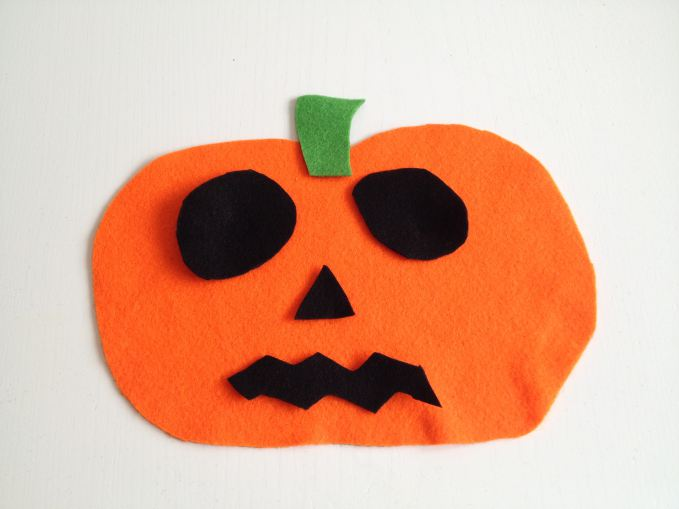 Halloween Felt Pumpkins
