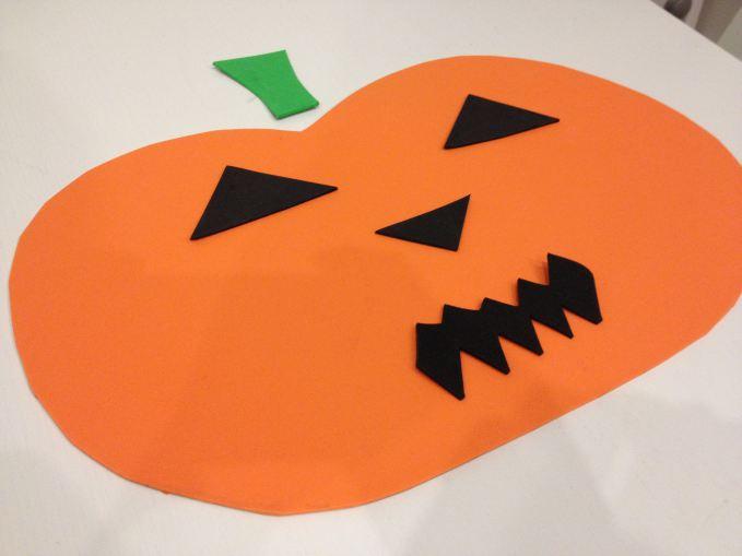 Bathtime Halloween Pumpkins