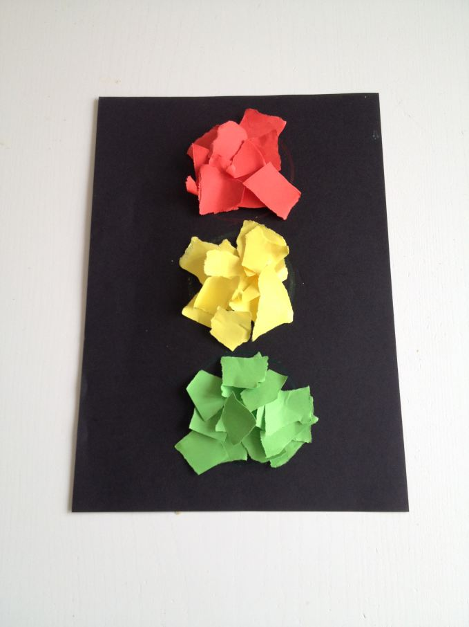 Traffic Light Colour Matching Craft