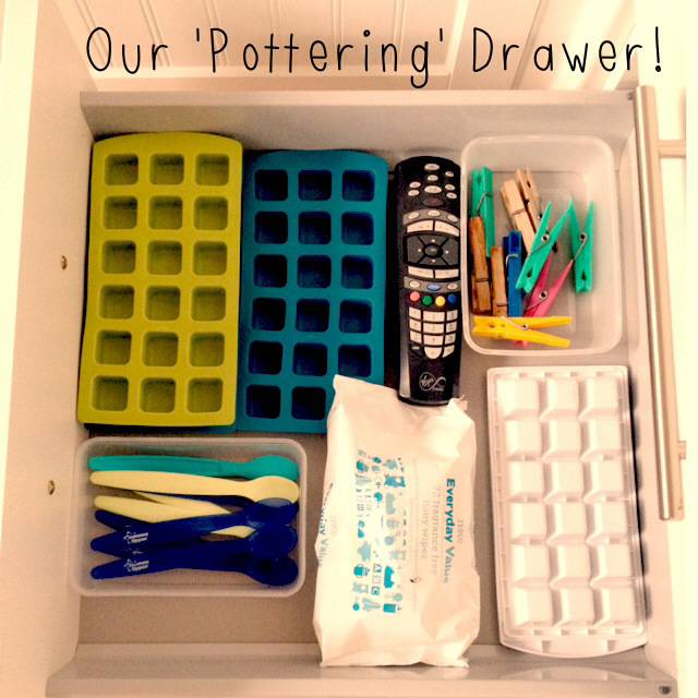 Keeping A One Year Old Occupied – The 'Pottering' Drawer