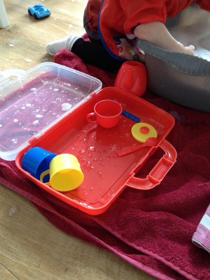 Tea Set Washing Up