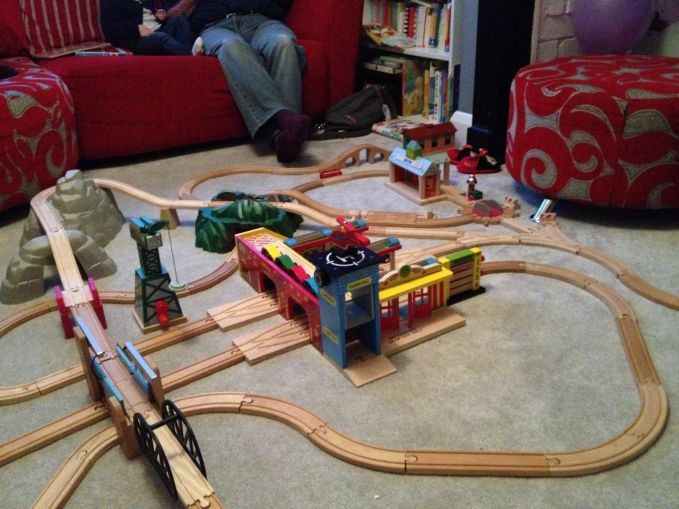 More Amazing Wooden Train Track Creations!