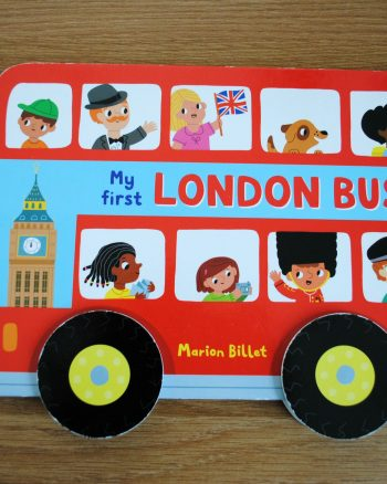 Freddie and Sasha's Good Reads – My First London Bus