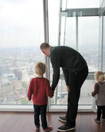 Birthday trip to The Shard