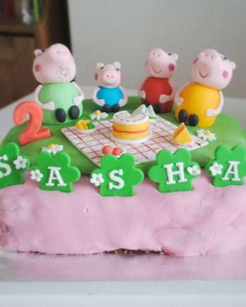 How to make an easy Peppa Pig Birthday Cake