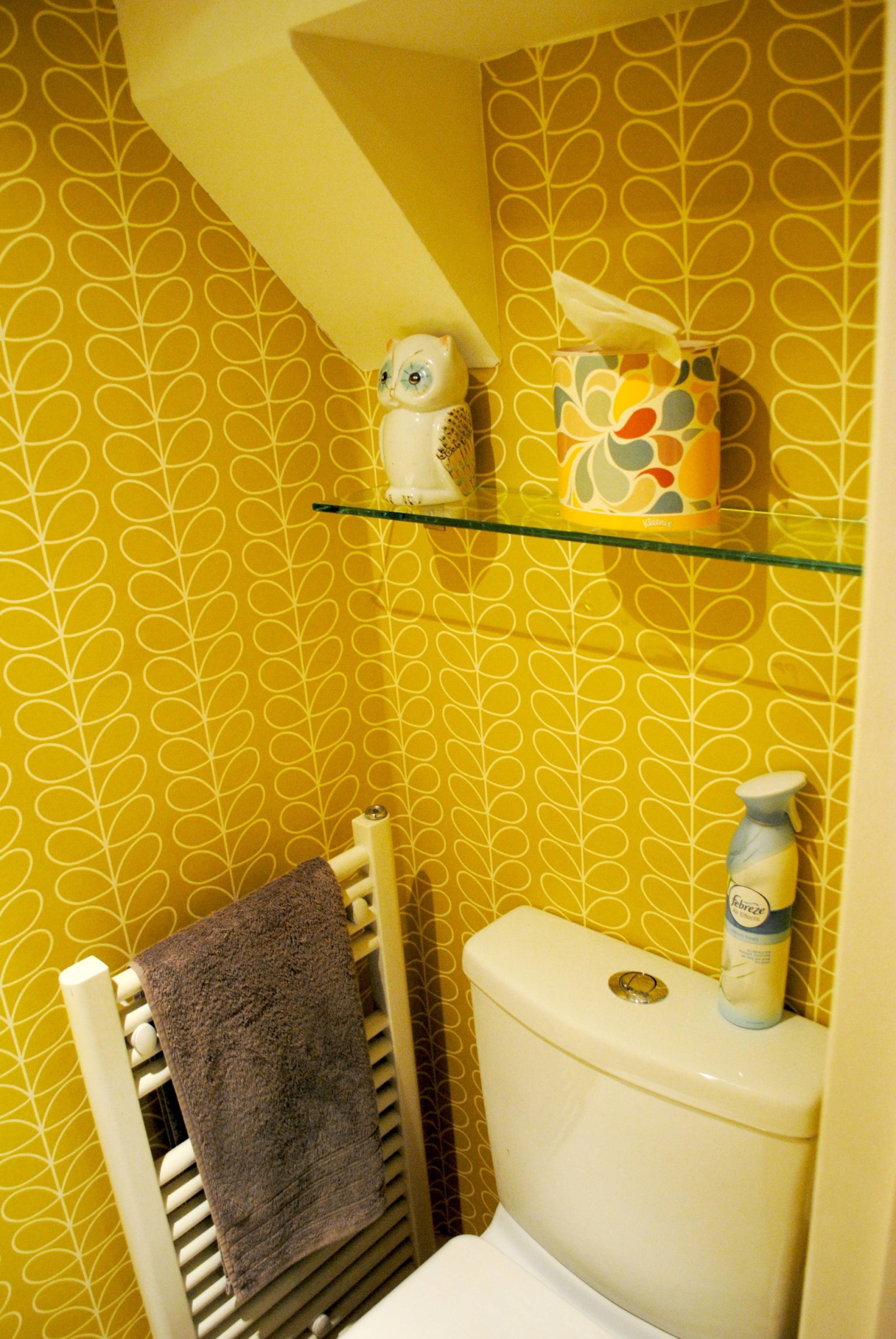 Downstairs Toilet Makeover