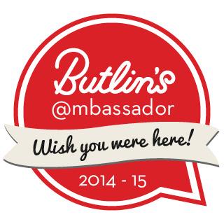 So…I'm a Butlins Ambassador!