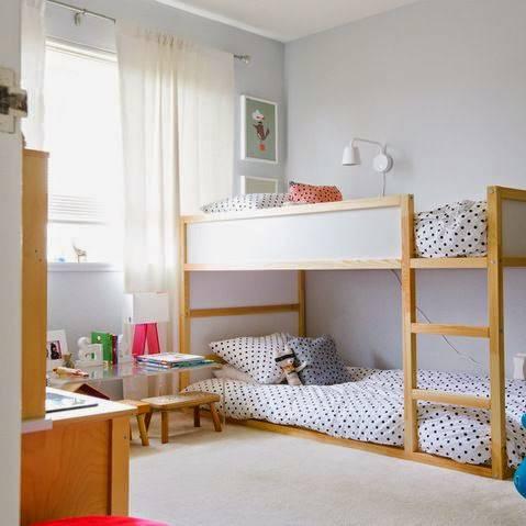 Mixed sex sibling room sharing the spirited puddle jumper - Habitaciones infantiles dobles poco espacio ...