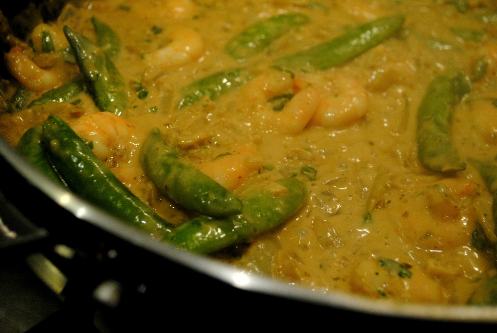 15 Minute Thai Prawn Curry