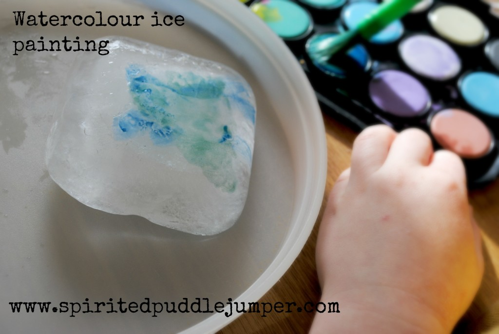 Watercolour Ice Painting Activity