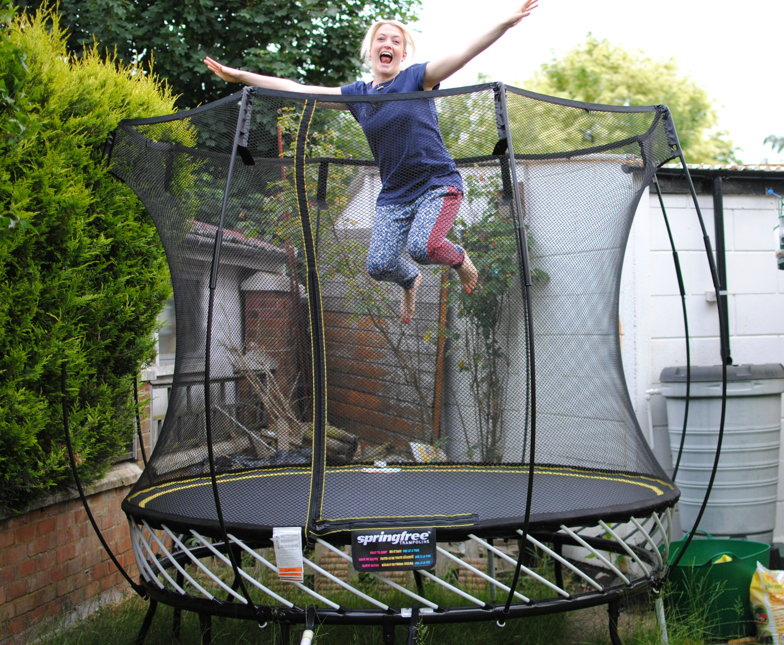 My summer fitness programme with springfree trampolines for Springfree trampoline
