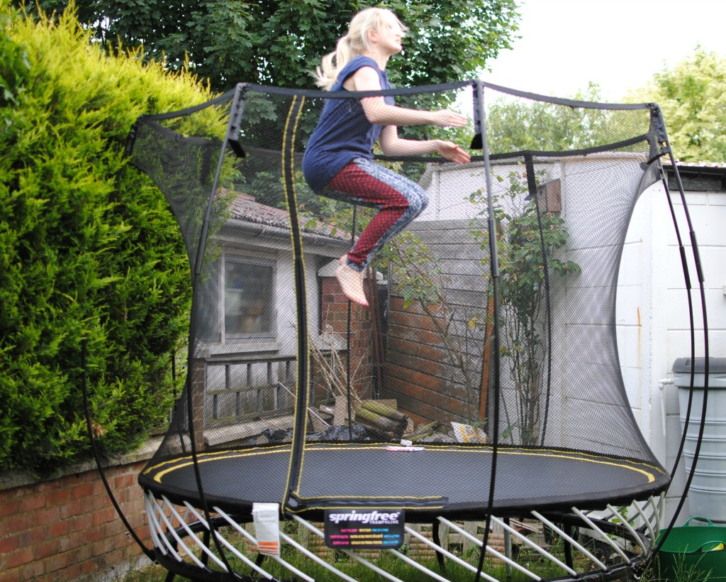 My summer fitness programme with Springfree Trampolines!