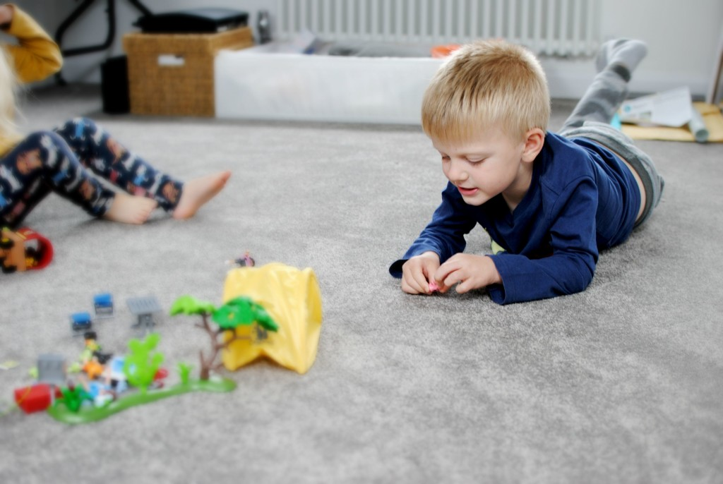 Loft room Organisation, parent-child bonding and reminiscing old favourites with Playmobil