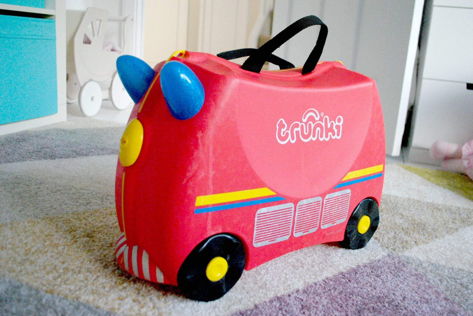 Win a 'Freddie the Fire Engine' Trunki