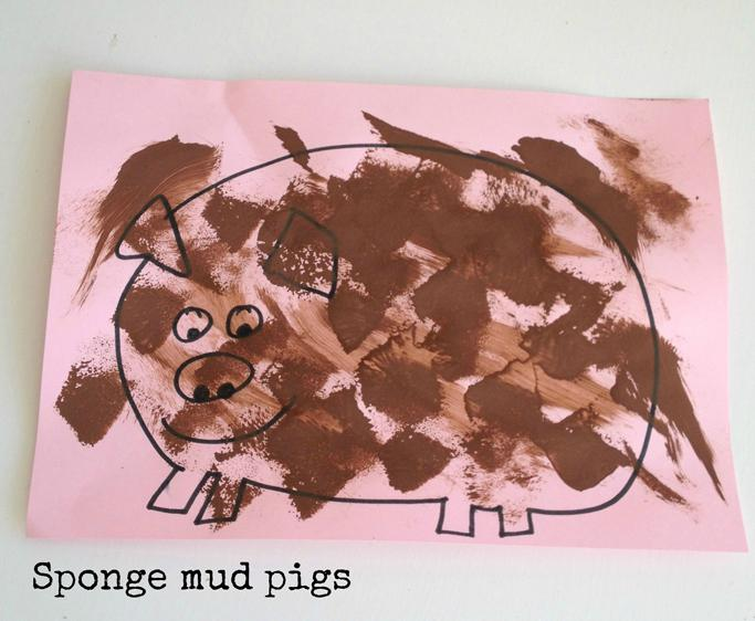 Muddy sponge pigs 3