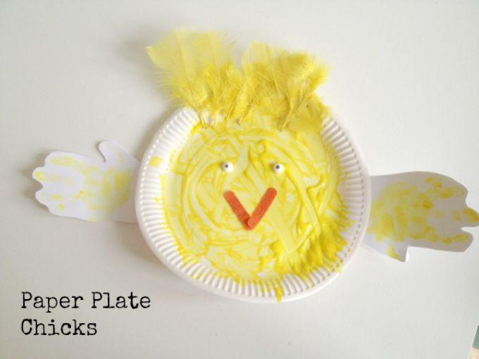 paper plate chicks 1