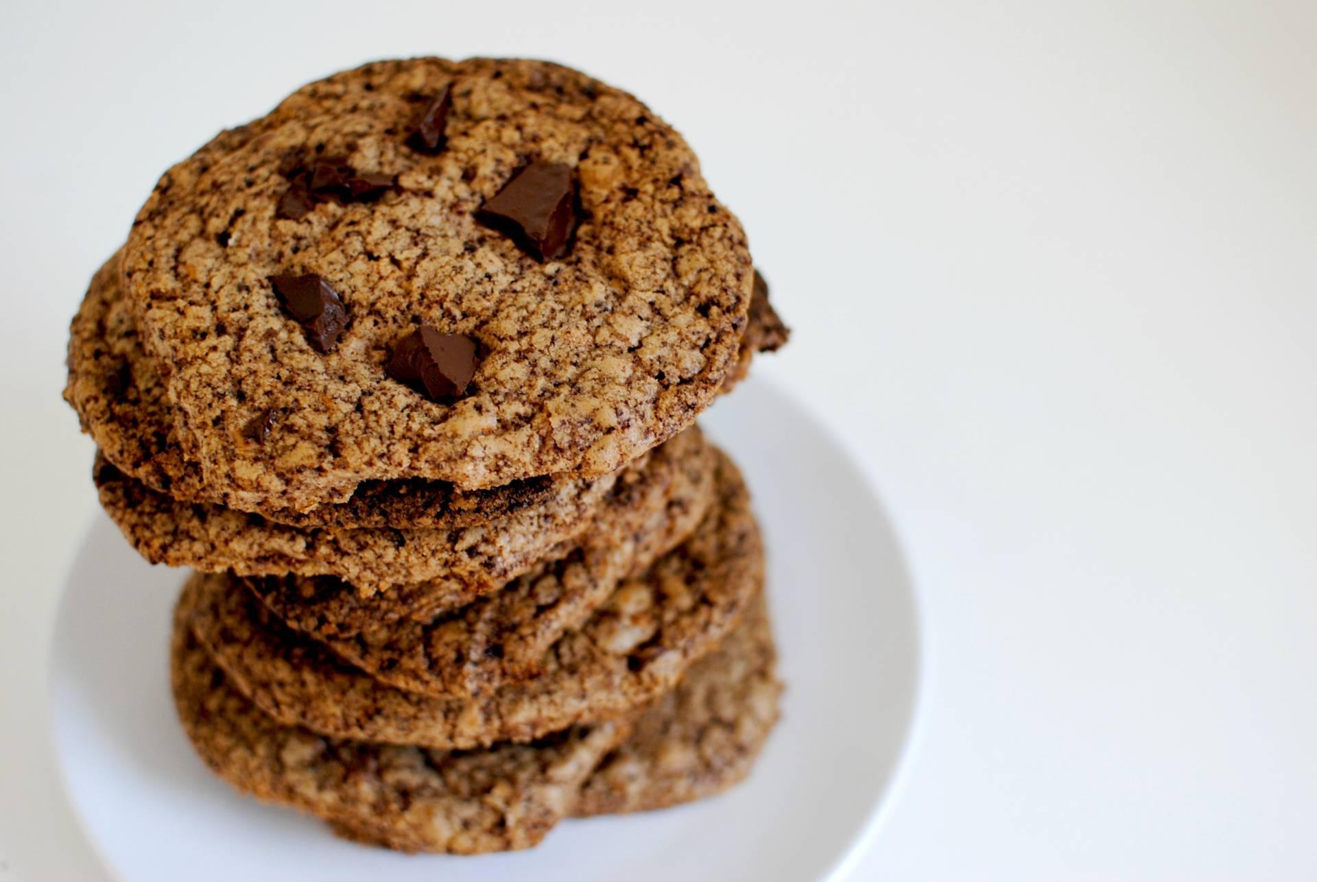 Ultimate Salted Triple Chocolate Cookies