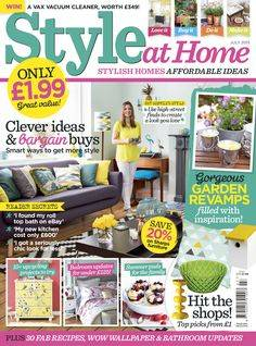 As seen in: Style at Home Magazine