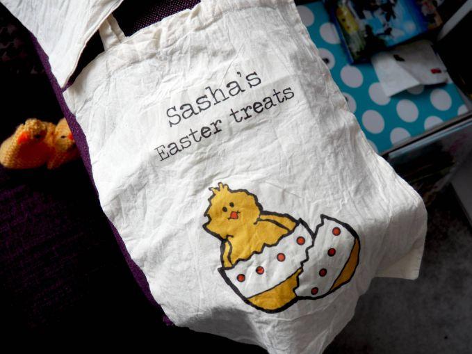 Sasha's Easter Treats Bag