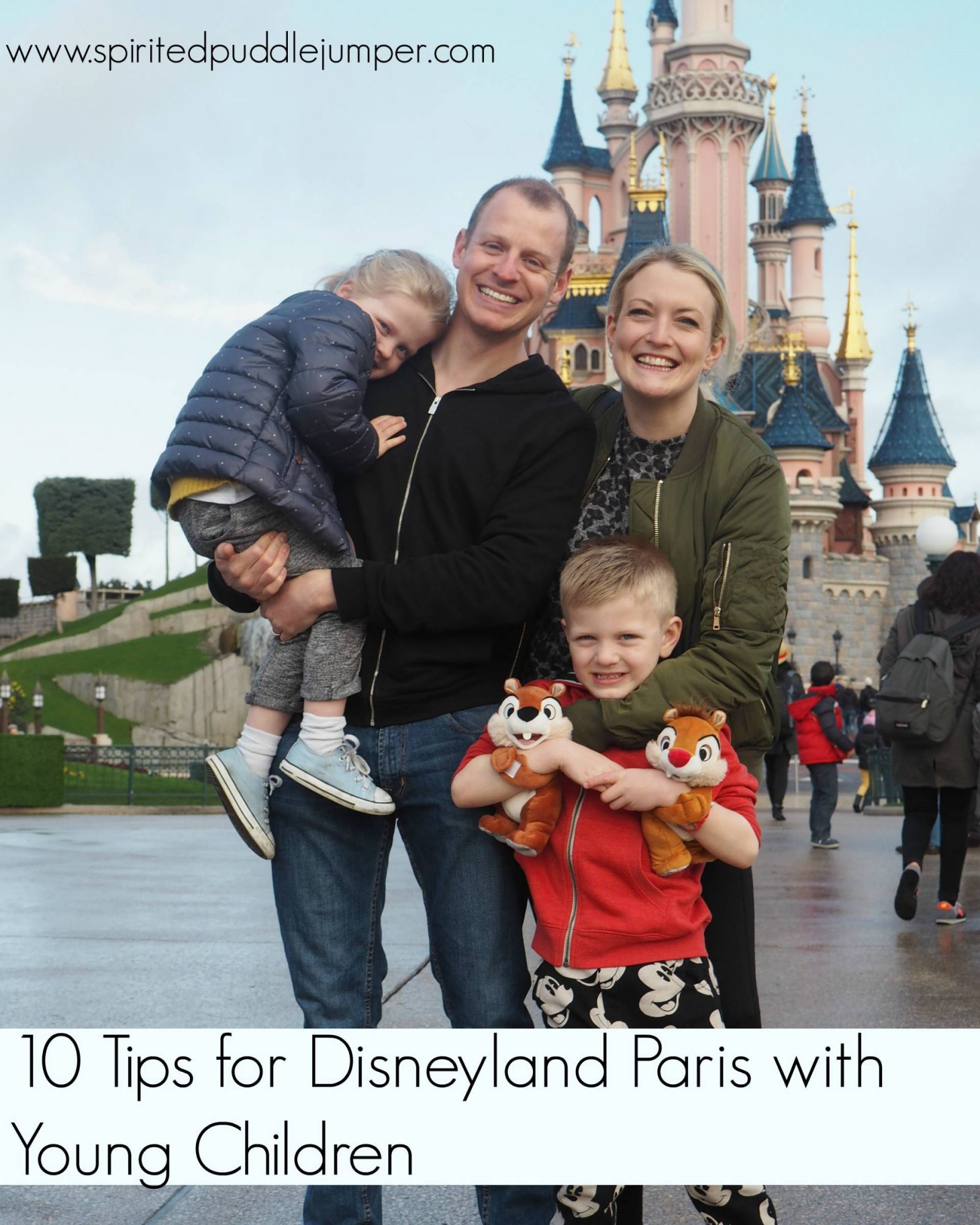 10 Tips for Disneyland Paris with young children