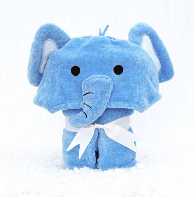 Elephant Children's Towelling Robe Product Alone