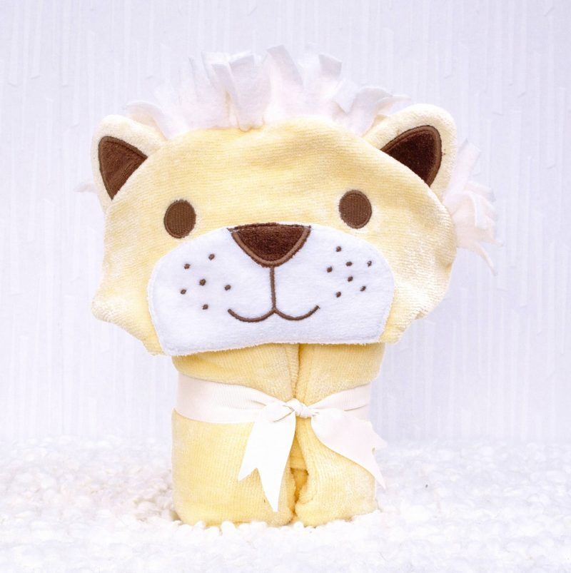 Lion Children's Towelling Robe Product Alone