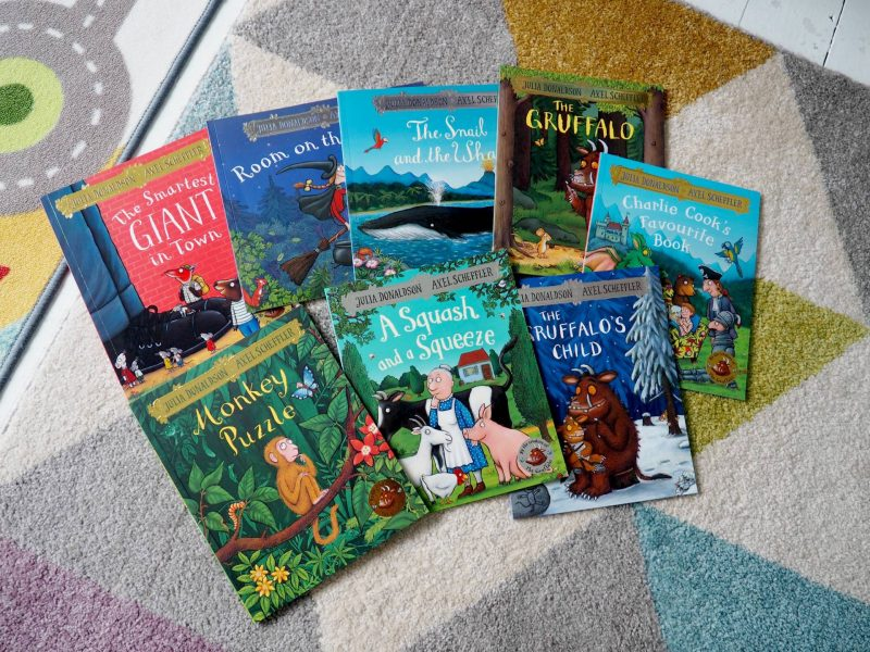 Fabulous Book Storage with the Great Little Trading Co and Win! A Set of 8 Julia Donaldson Books thanks to Macmillan