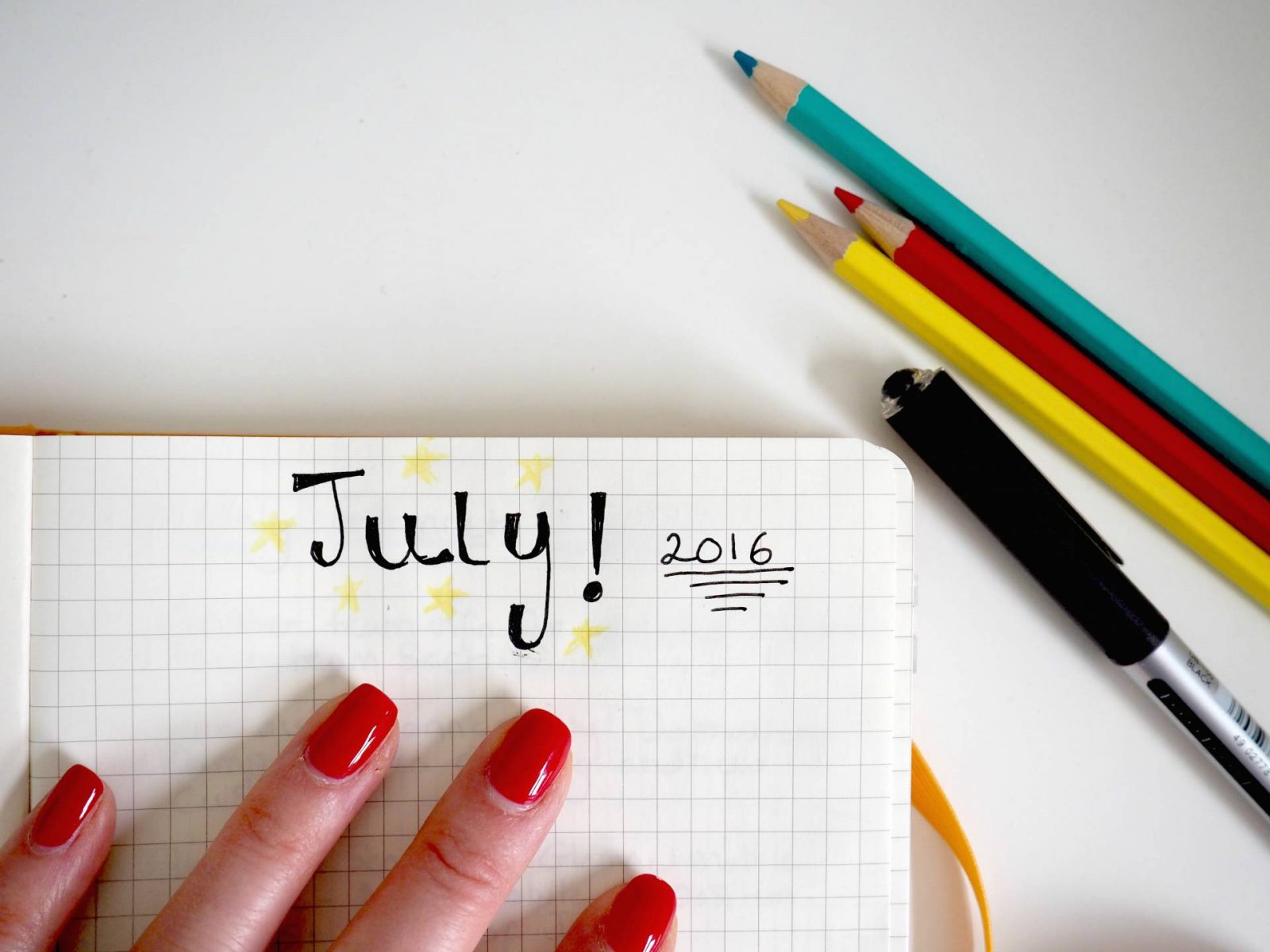 July Monthly Goals and WIN a £50 Amazon Gift Card