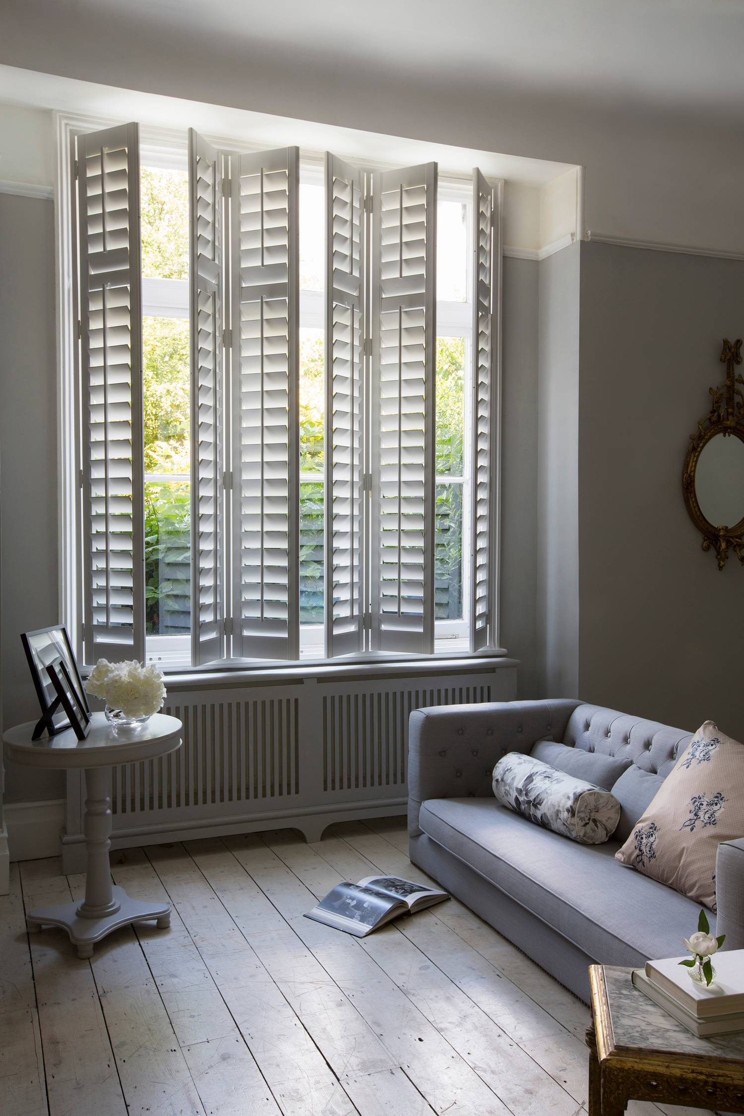 Enjoy the Timeless Style of Interior Shutters