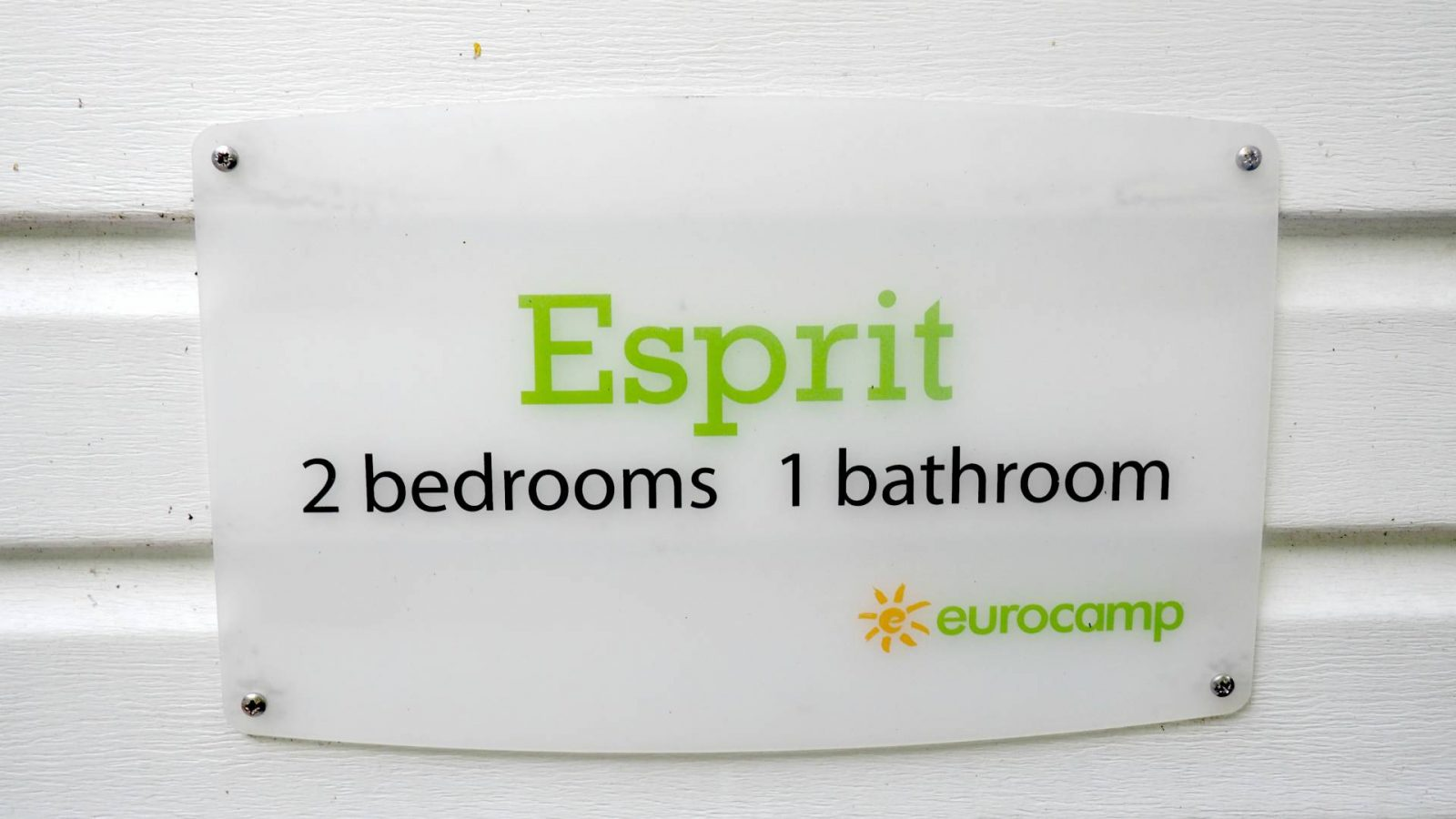 So, what's a Eurocamp Esprit Mobile Home really like?