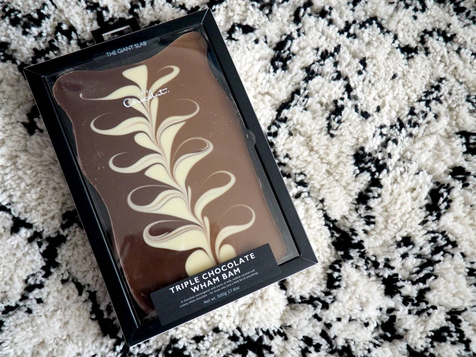 Merry Giftmas! #1 WIN a giant Hotel Chocolat Triple Chocolate Wham Bam bar