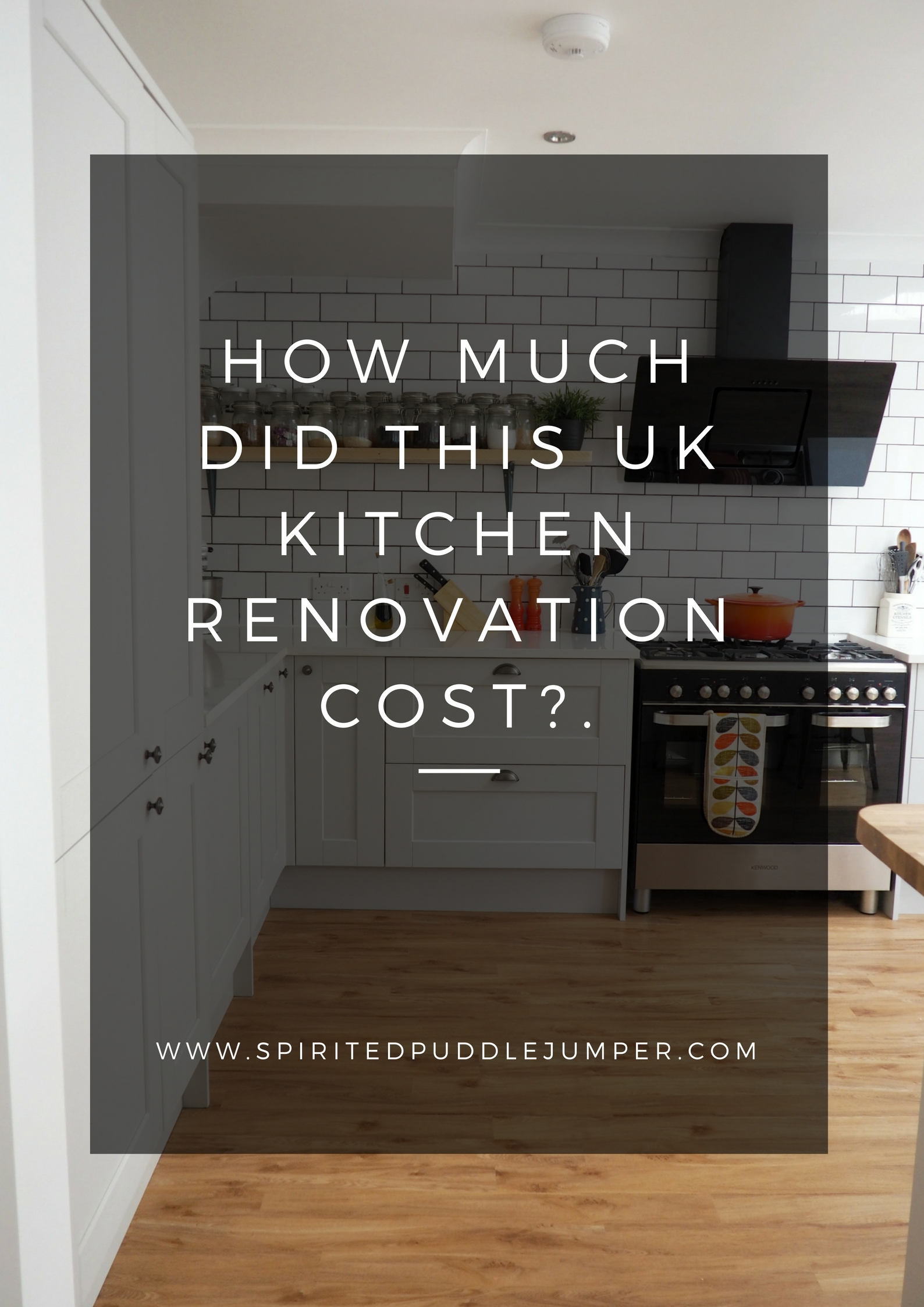 How Much Did Our UK Kitchen Renovation Cost?