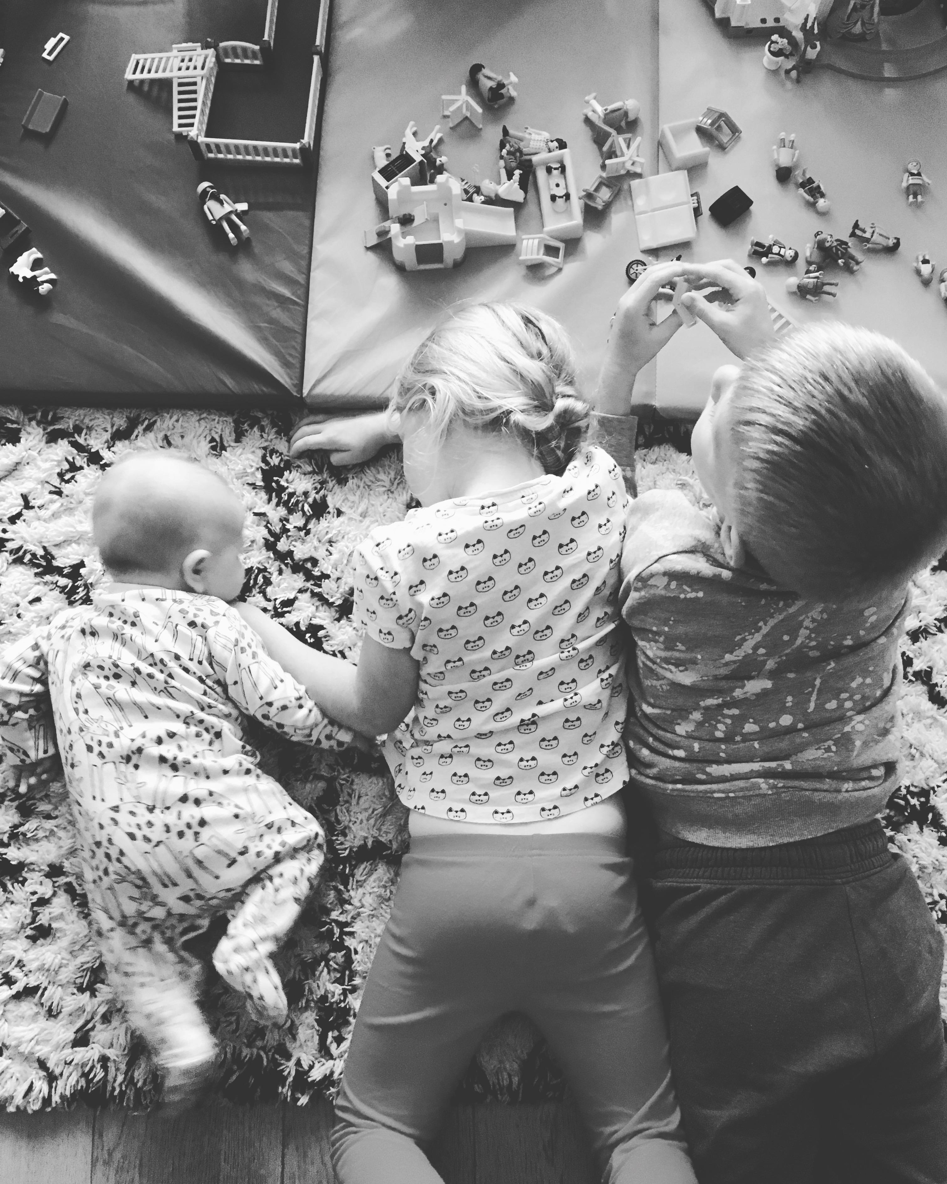 3 children, 4 months in