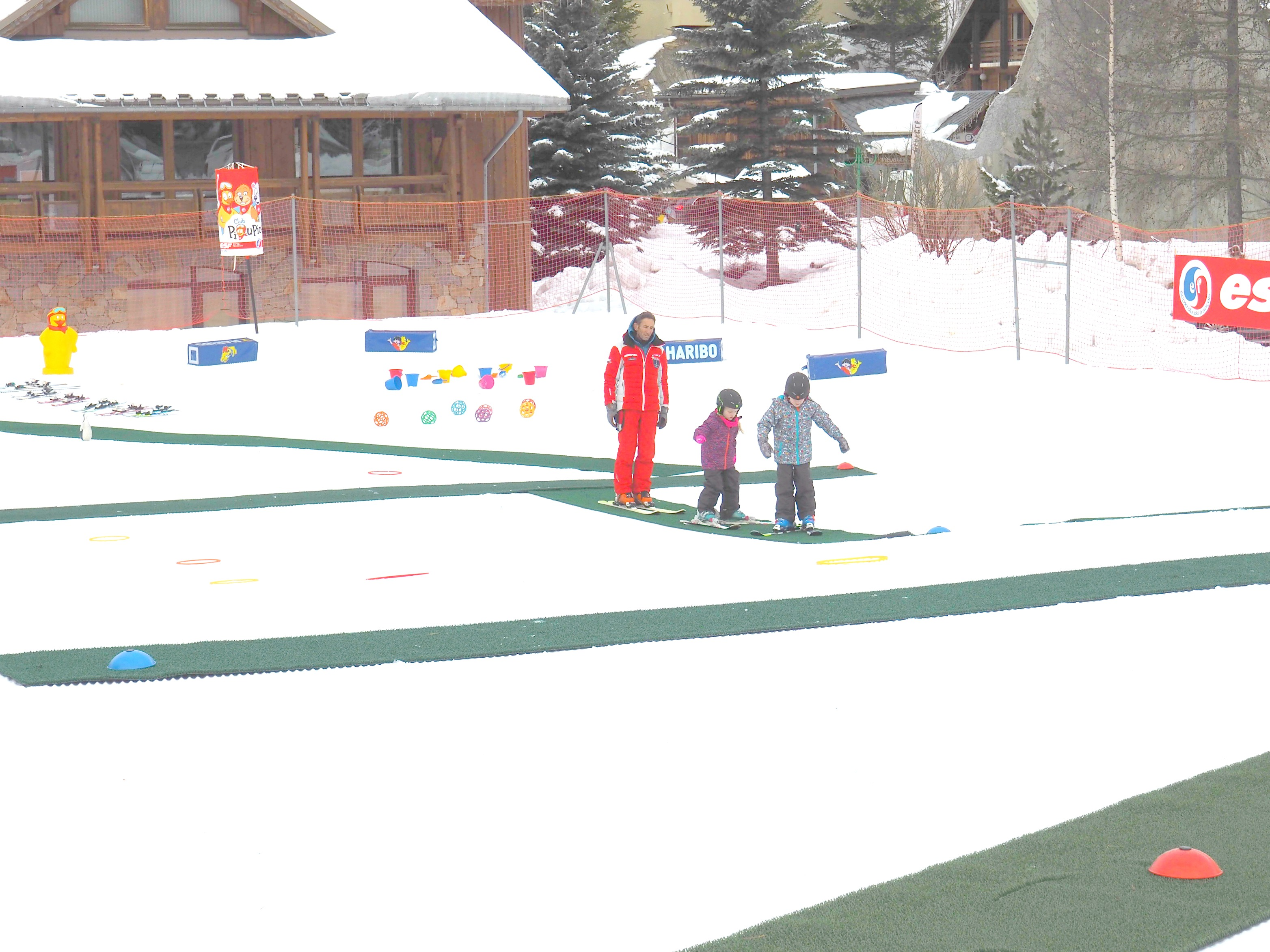 ski school Les Deux Alpes Mark Warner