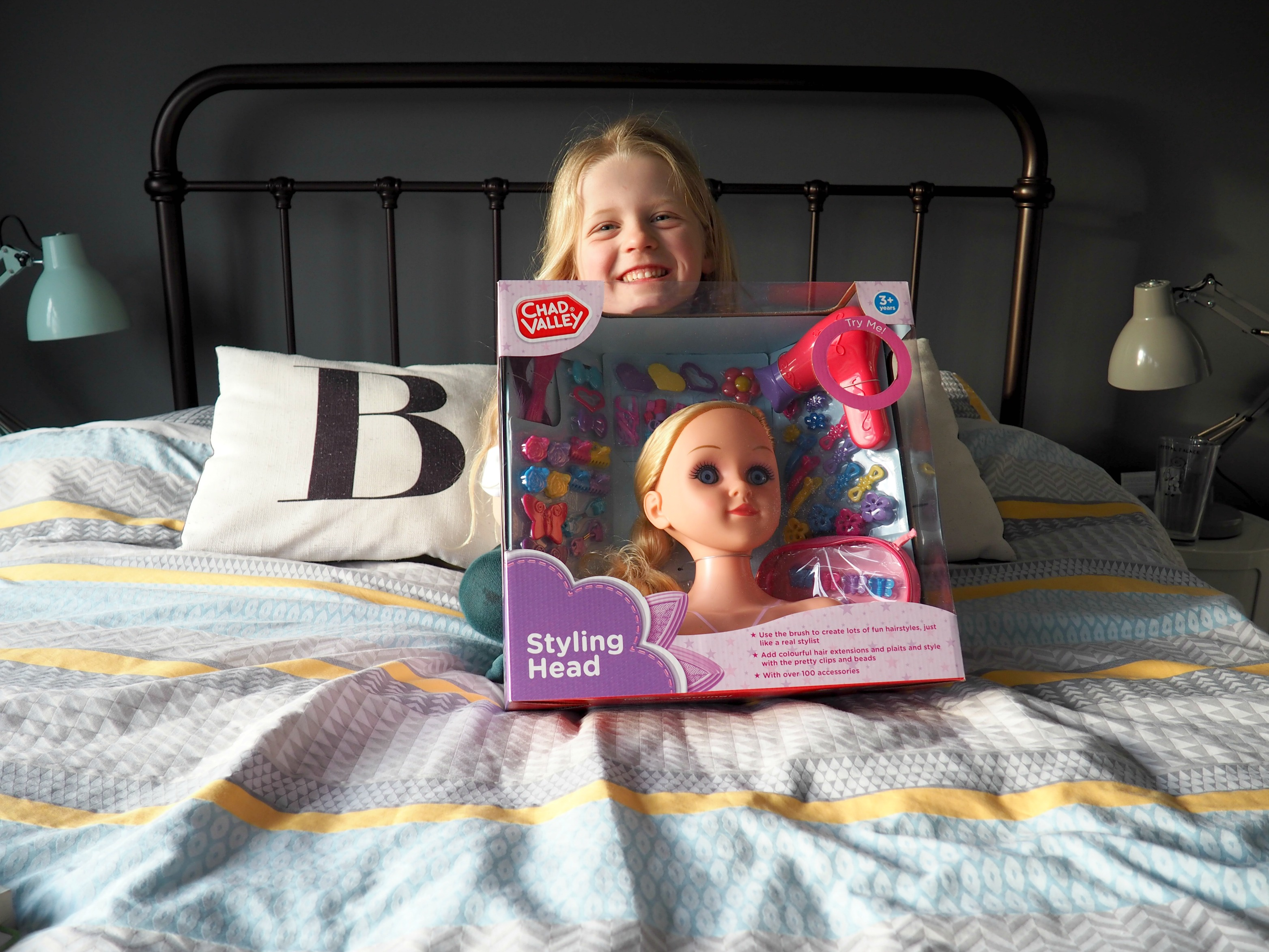 Chad Valley 100 Piece Styling Dolls Head Review