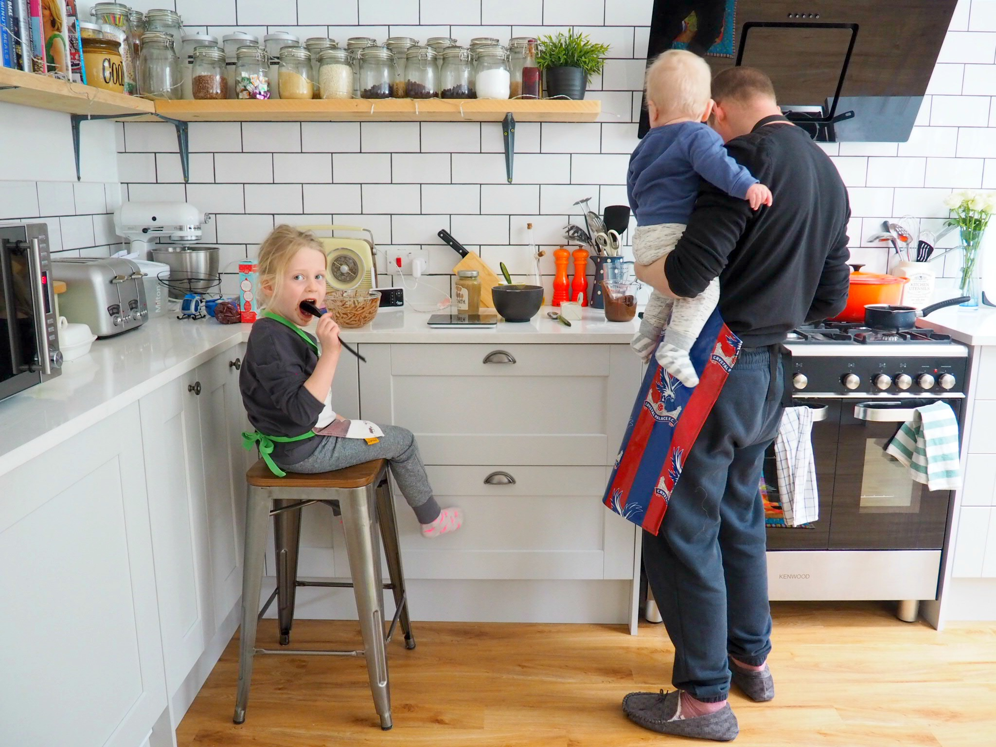 Our family baking hobby and WIN a KitchenAid Classic Stand Mixer