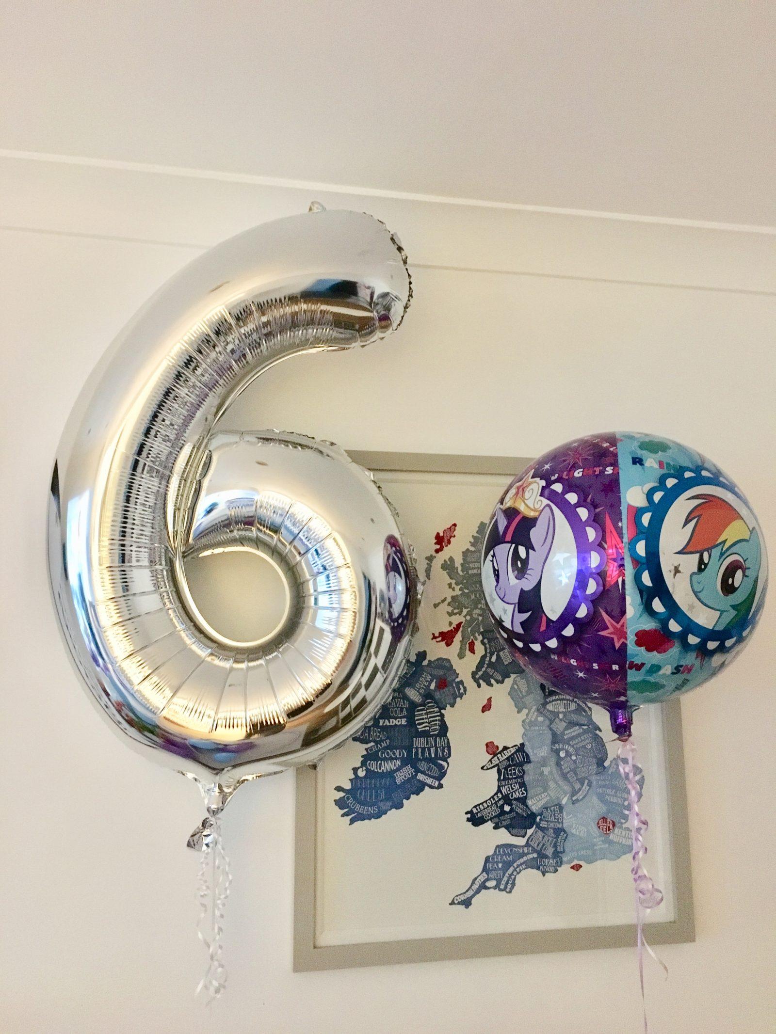 silver age 6 balloon
