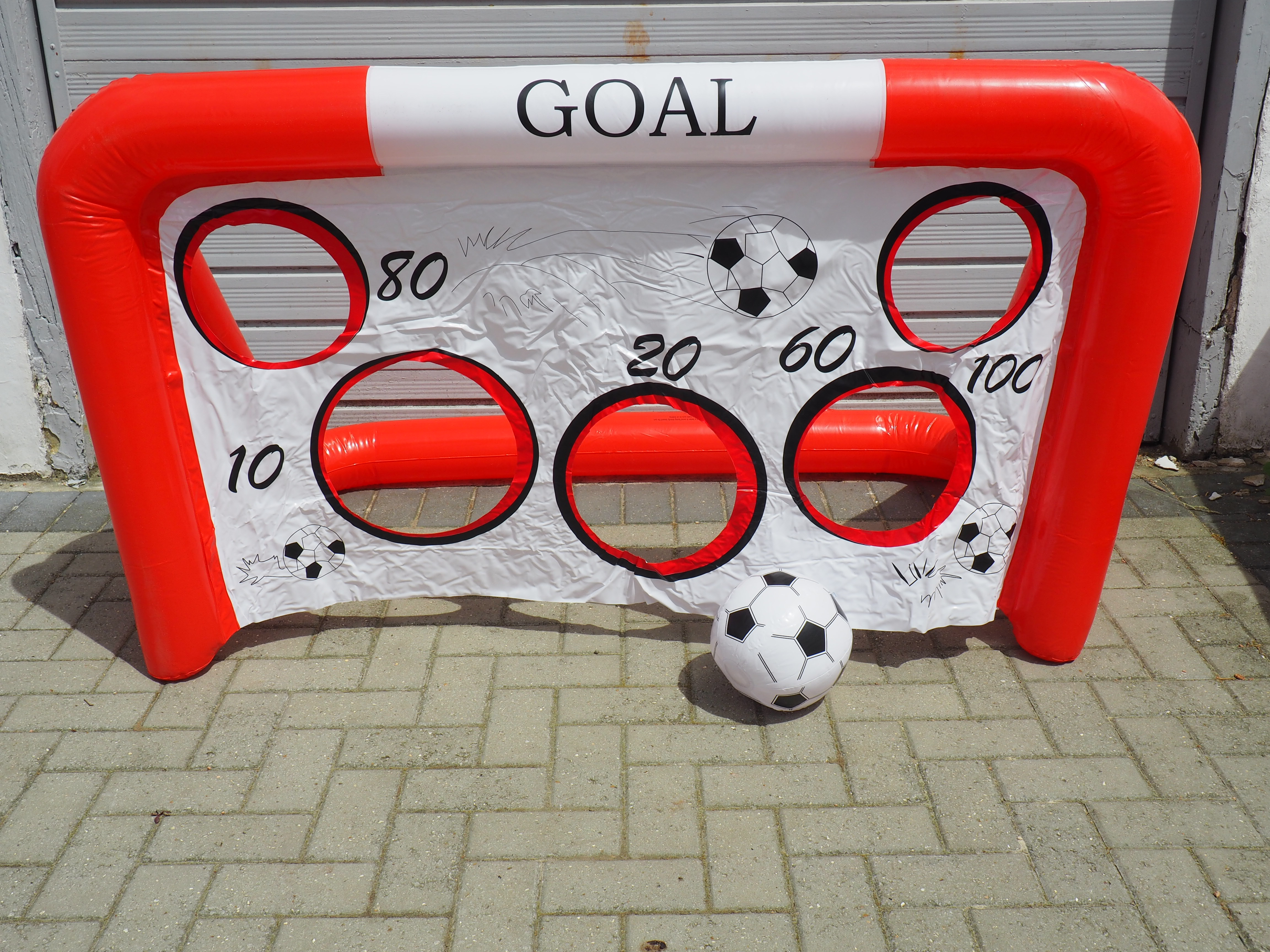 Chad Valley inflatable football goal