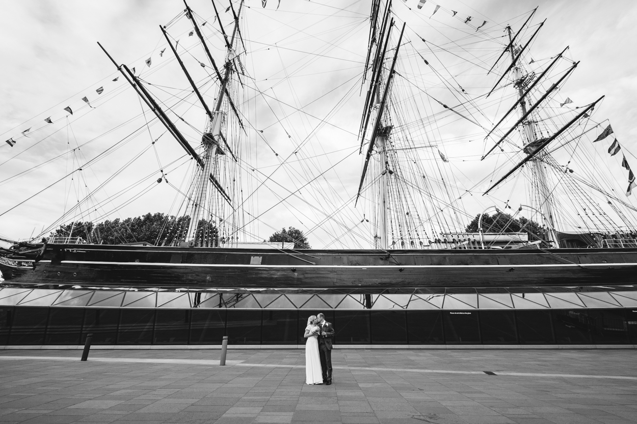 Wedding Cutty Sark Greenwich