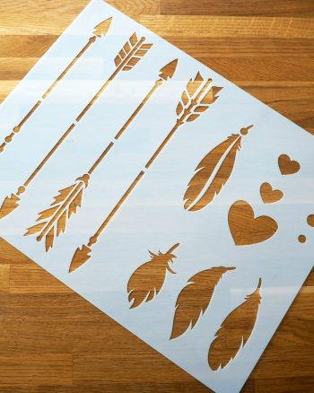 Getting our craft on with Stencil Revolution