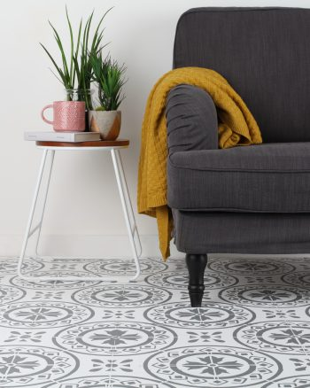 How to Stencil wooden or concrete flooring in 4 steps