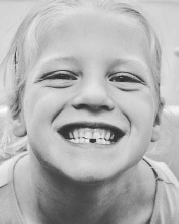 2nd child, 1st tooth