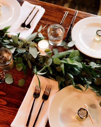 Setting Dinnerware for Formal Dining