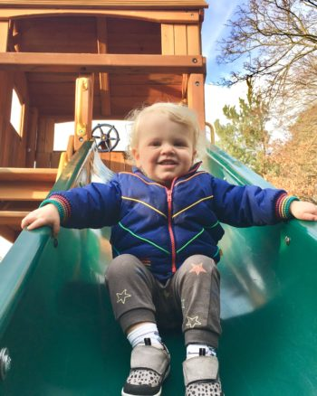 Our Rainbow Play Climbing Frame – One Year On