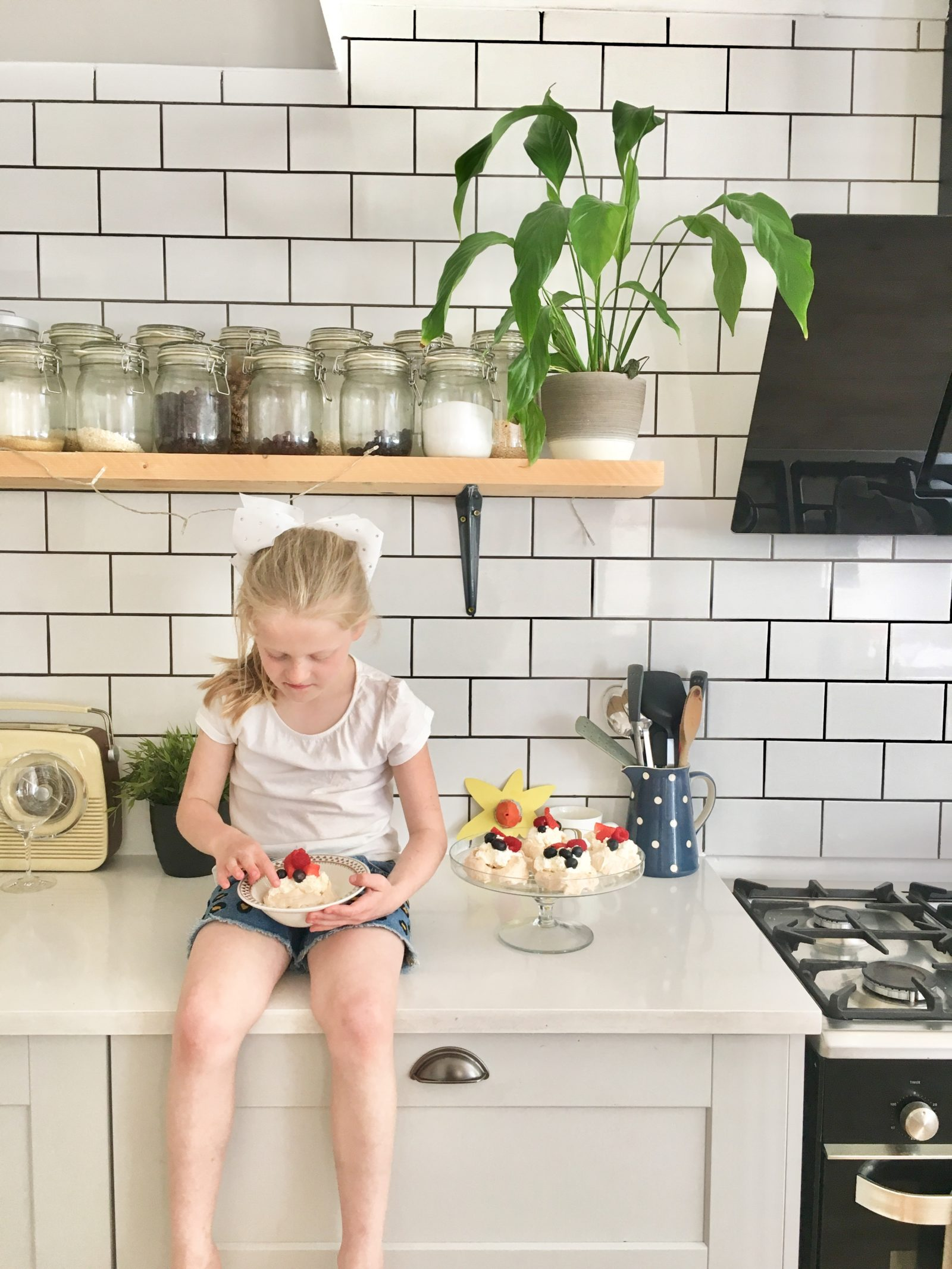 Cook with kids! Easy Fruit Meringues