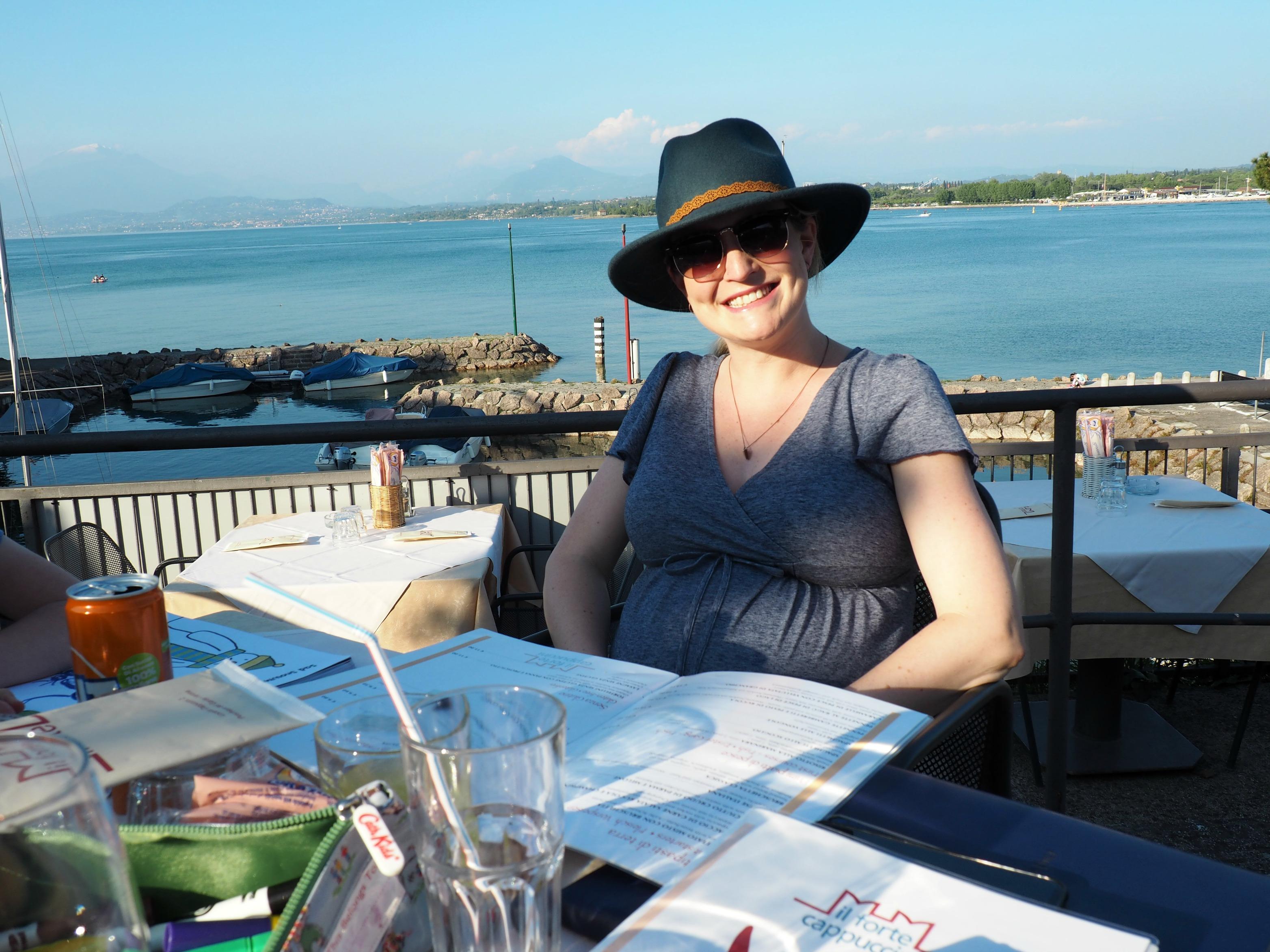 Babymoon in Lake Garda