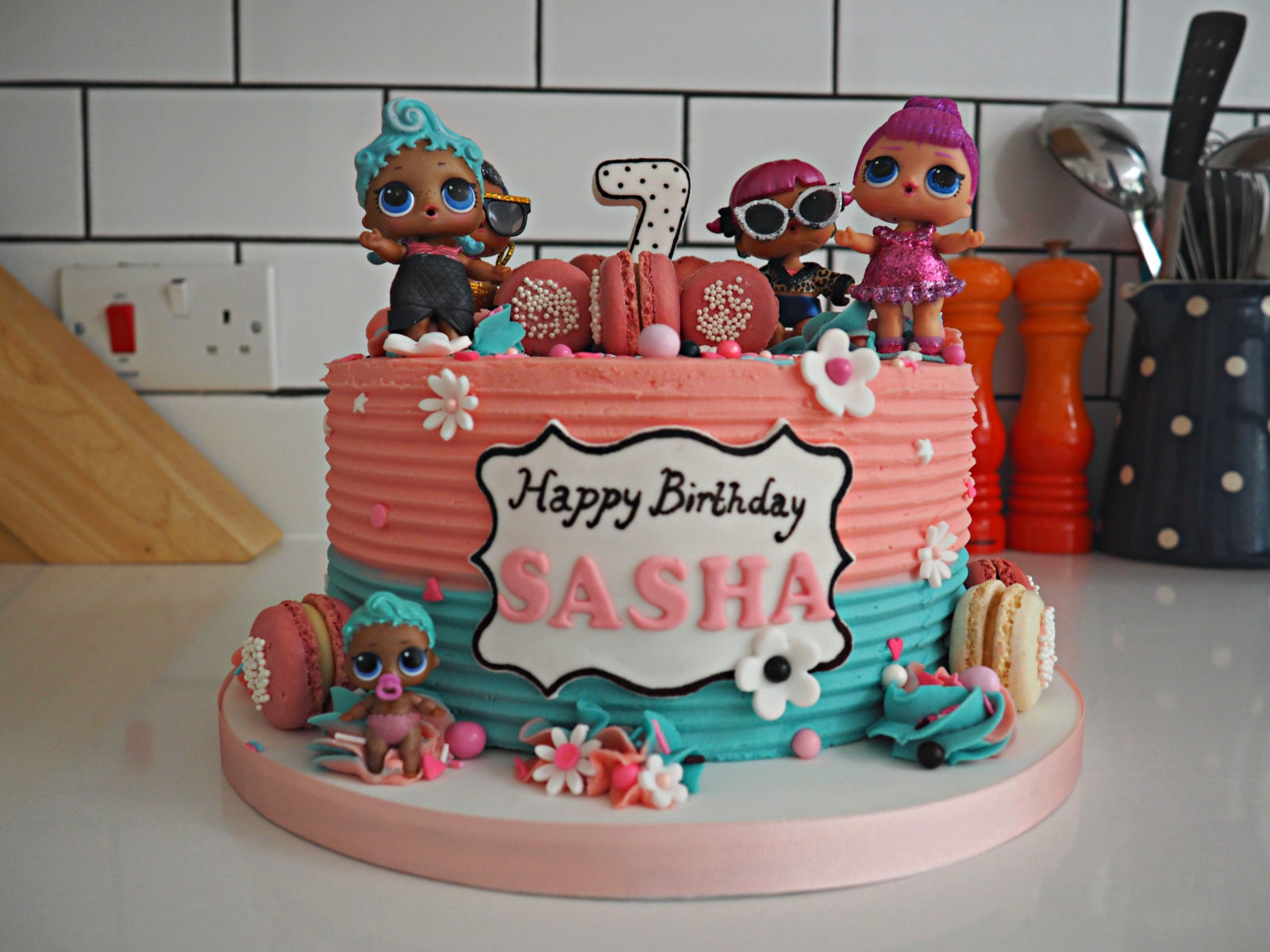Sasha's 7th Birthday