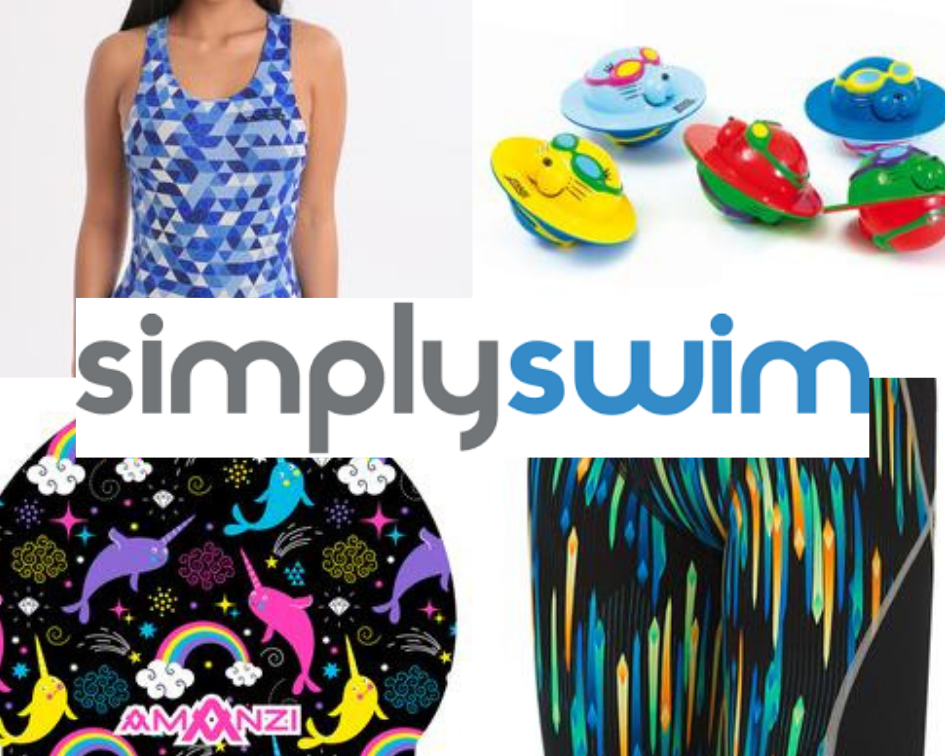 simply swim collage