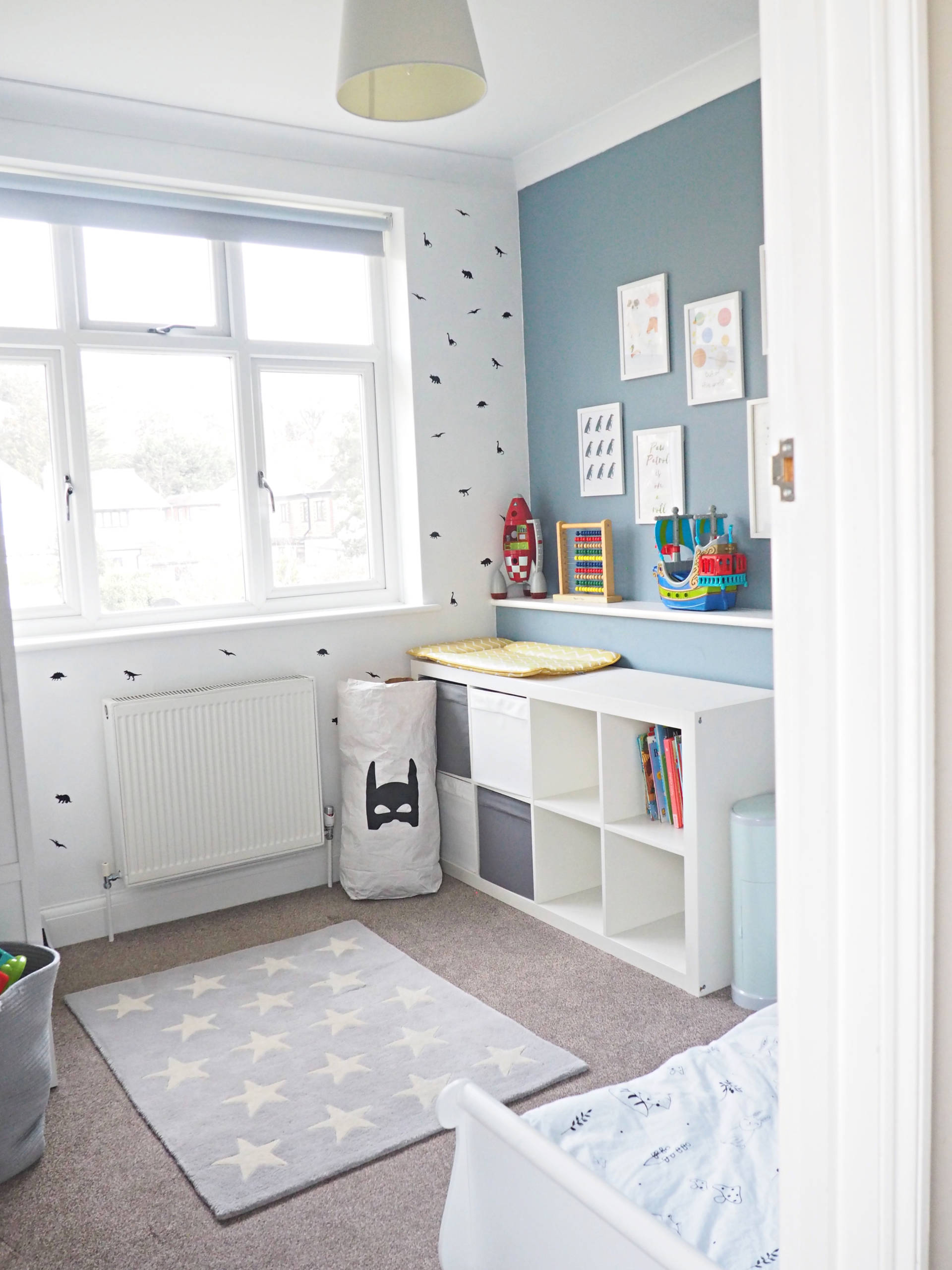 denim drift colour children's bedroom